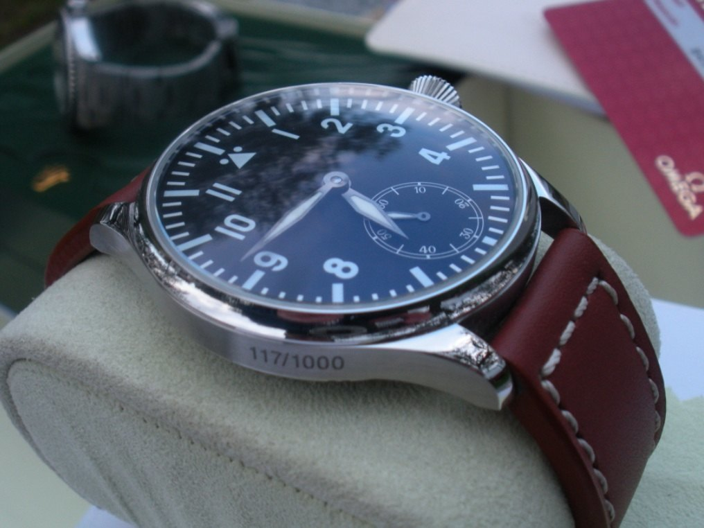 Parnis Flieger Manual 44mm Derelojes
