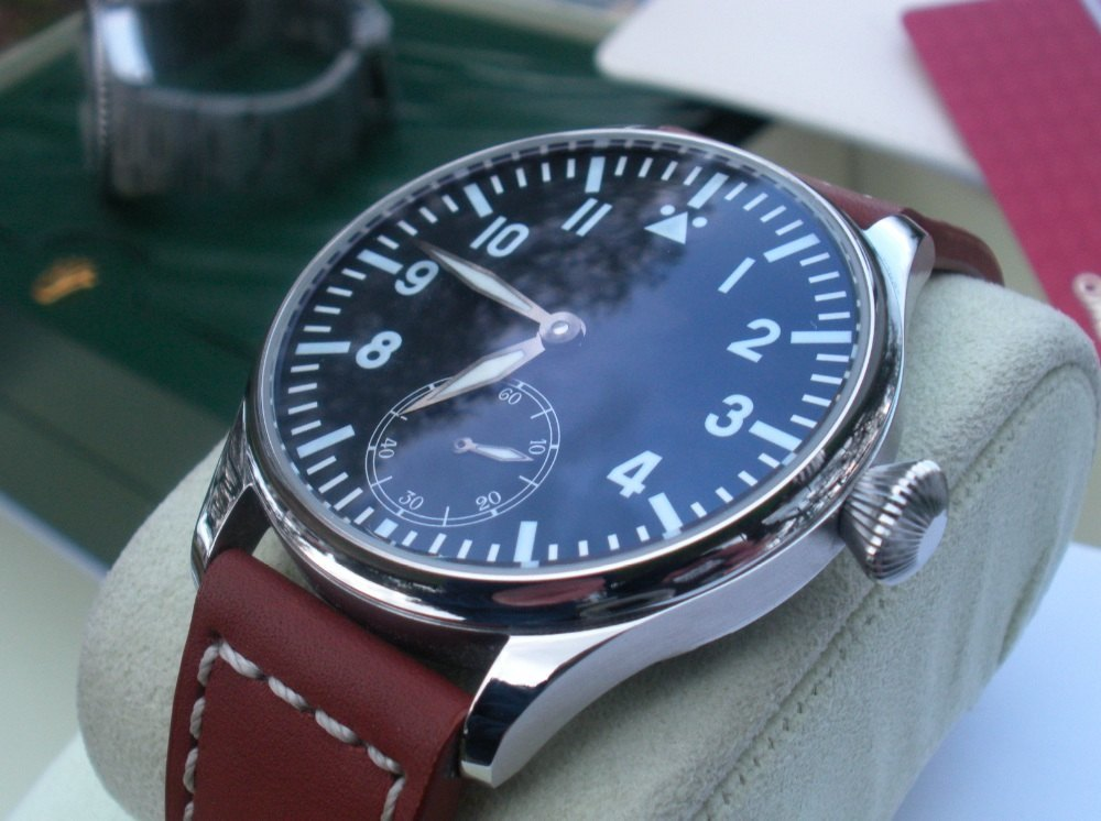 Parnis Flieger manual 44mm