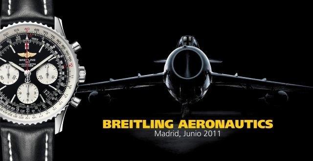 Breitling abre un hangar en pleno Serrano