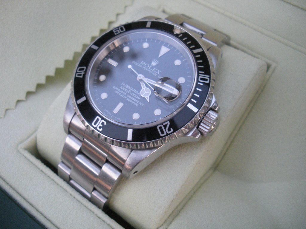Rolex Submariner 16610 Date Tritio