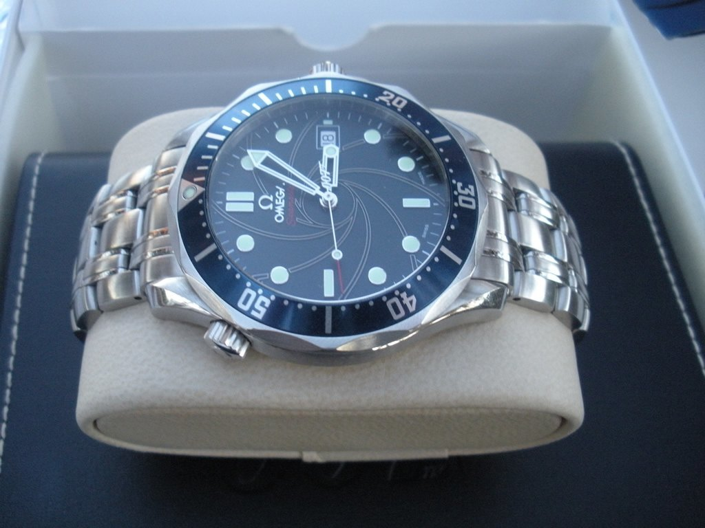 Reloj Omega James Bond 007 Edición Limitada Seamaster Precio