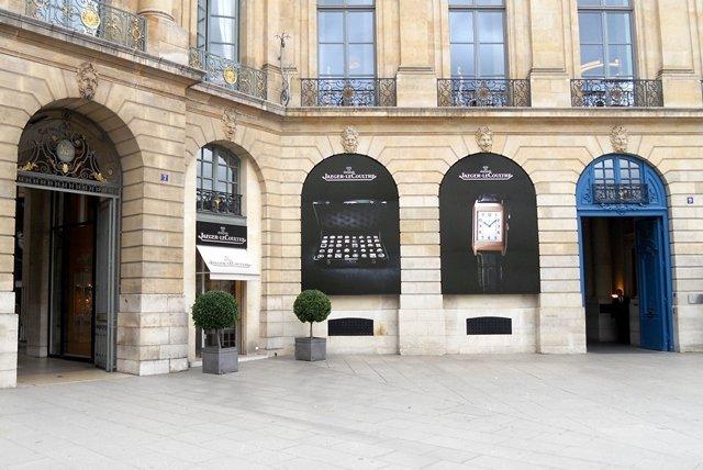 Boutique temporal Jaeger-LeCoultre en rue Saint-Honoré a partir de diciembre 2011