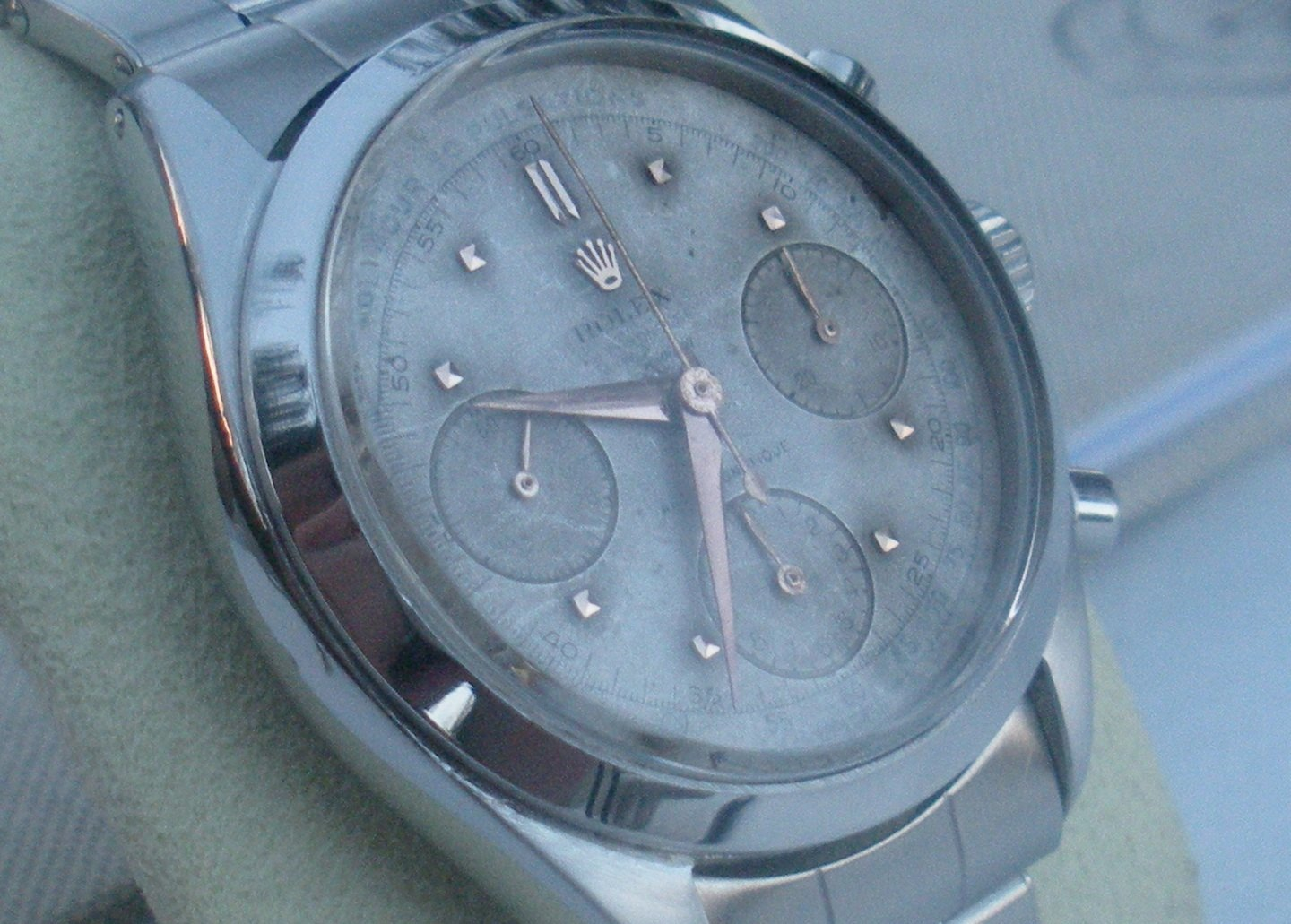 Rolex Oyster Chronograph Antimagnetique 6234 (Pre-Daytona) Medical dial for Riviera Jewelry – Joyería Riviera (Havana)