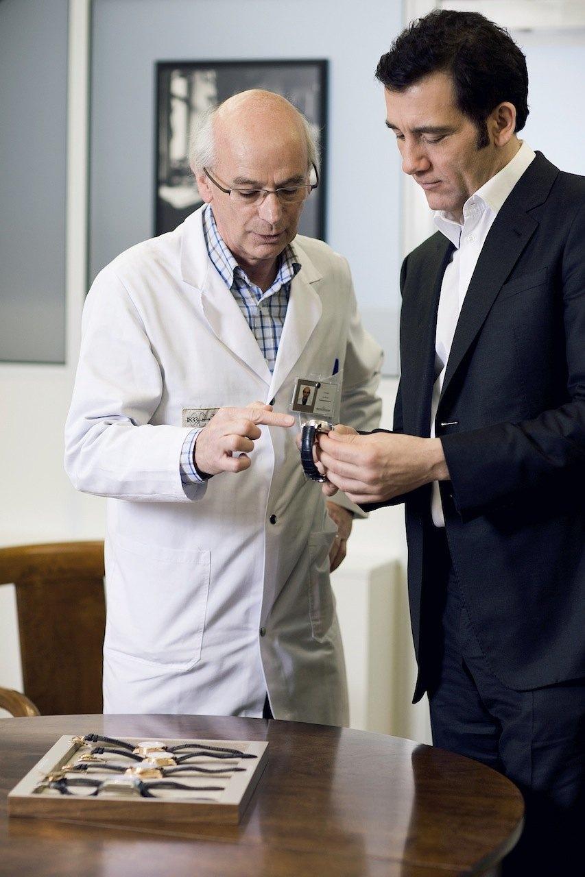 """Clive Owen descubre la colección Jubilee """"Hommage à Antoine LeCoultre"""""""
