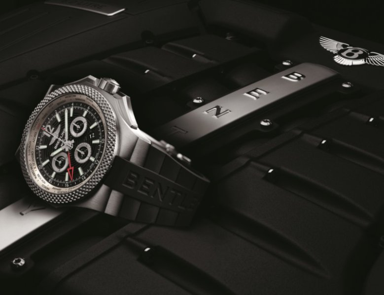 BASELWORLD 2014: BREITLING Bentley GMT Light Body B04