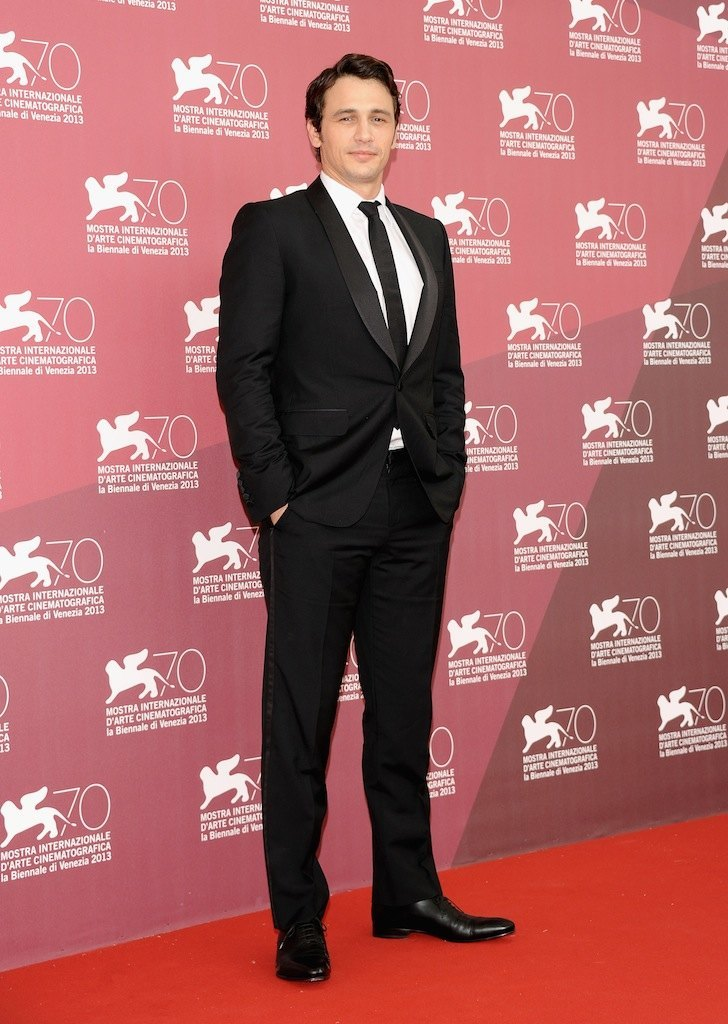 James Franco fue galardonado con el premio Jaeger-LeCoultre Glory to the Filmmaker 2014 en el Festival Internacional de Cine de Venecia