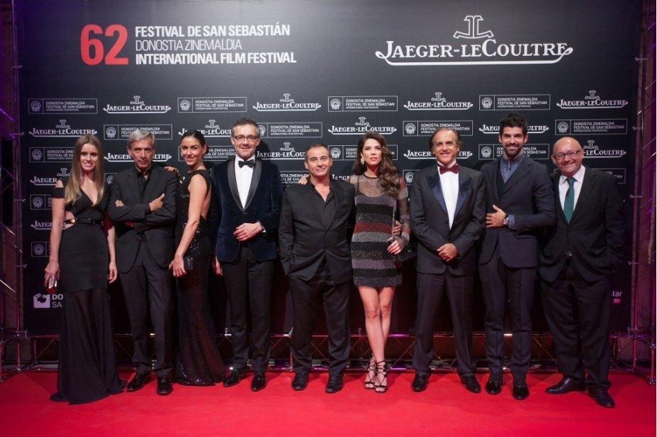Jaeger-LeCoultre celebra su tercer año como patrocinador oficial del Festival Internacional de Cine de San Sebastián