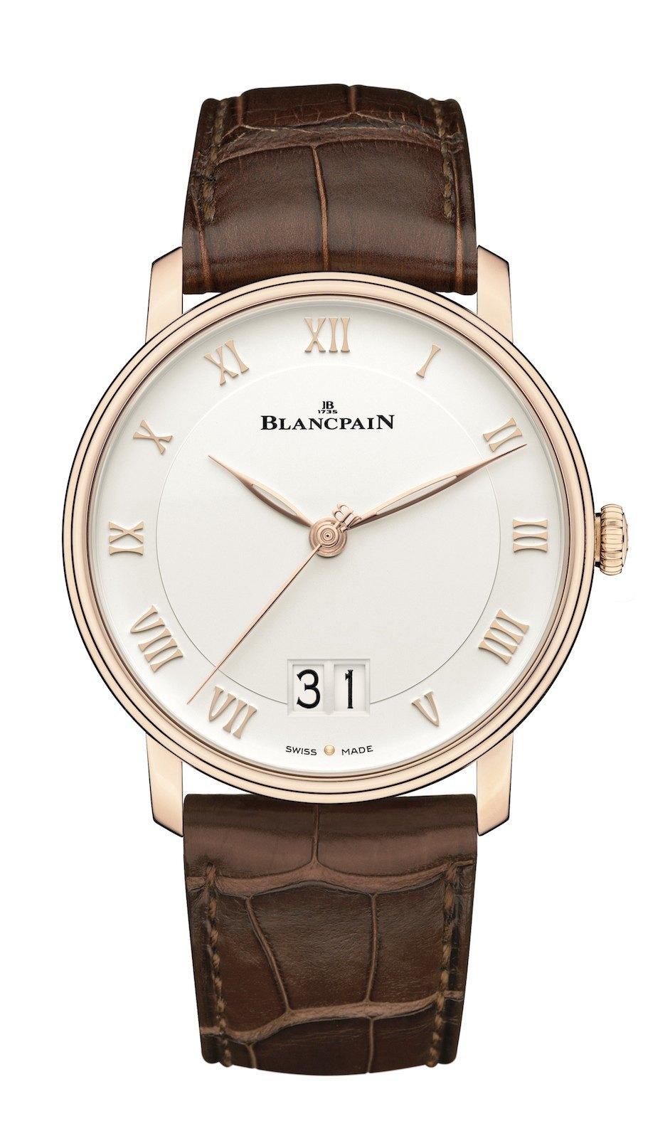 Pre Basel 2015 – Blancpain – Una gran fecha para la colección Villeret