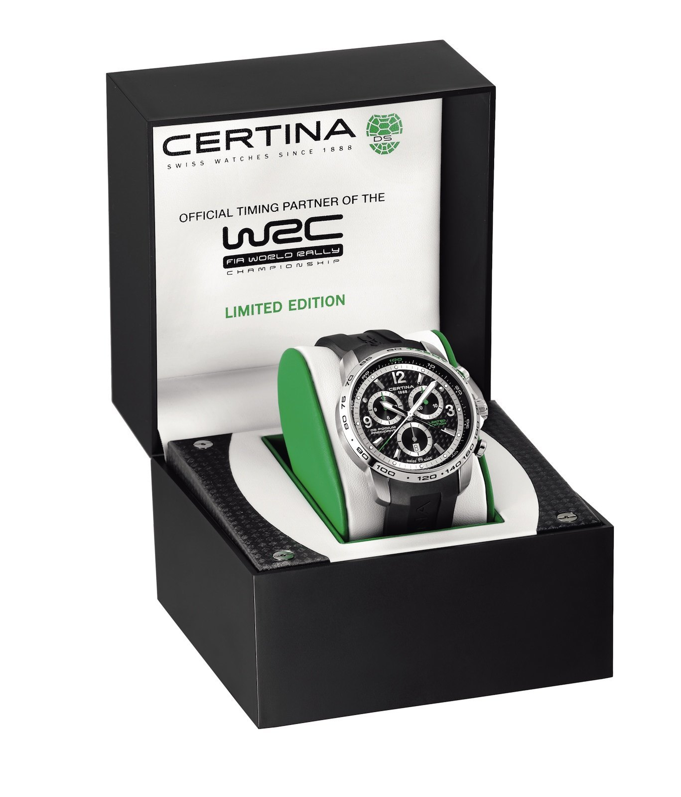Certina DS Podium Big Size Chronograph WRC Limited Edition