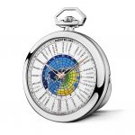 Montblanc 4810 Orbis Terrarum Pocket Watch '110 Years Edition' Ref. 114928