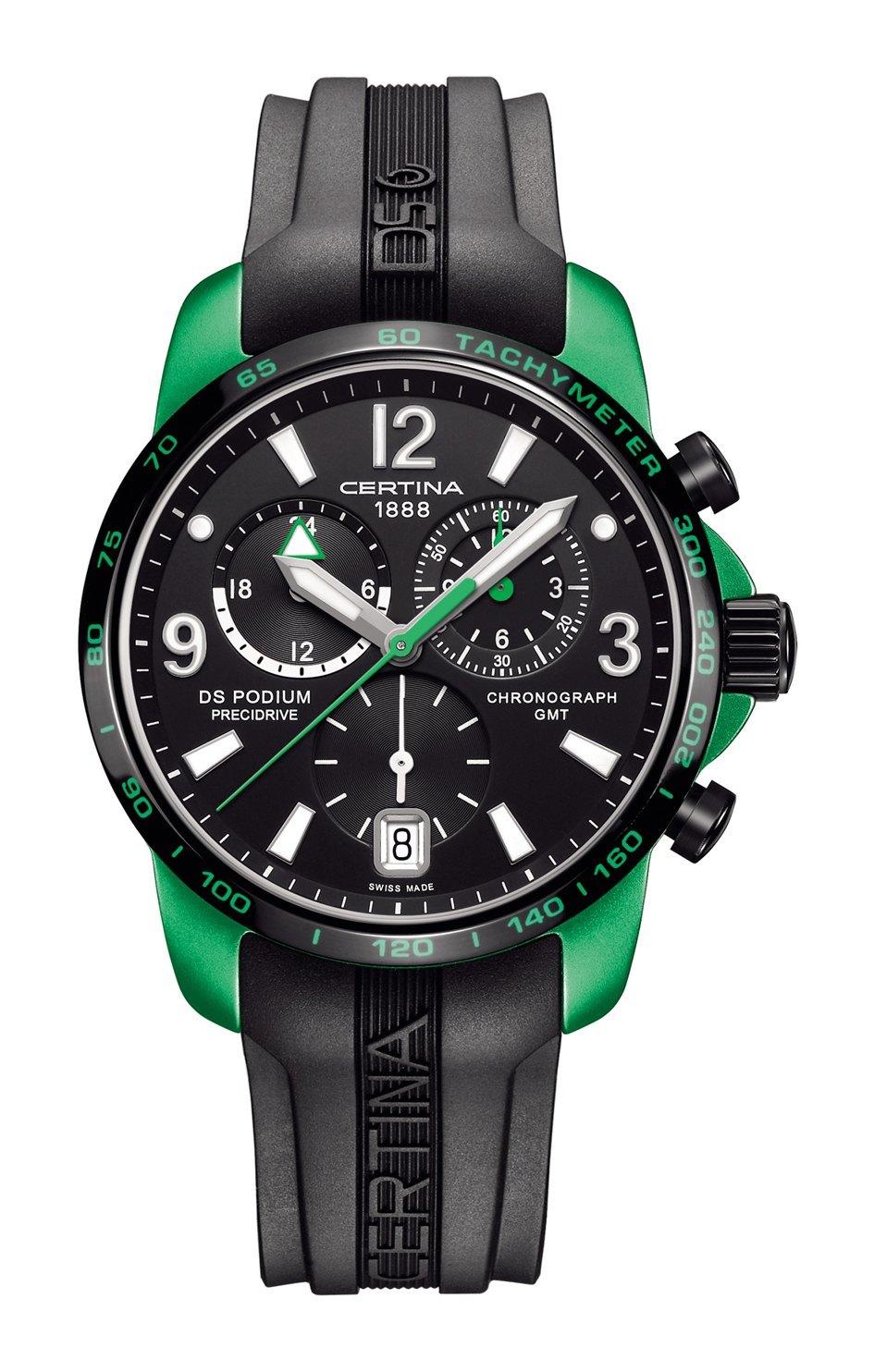 DS PODIUM GMT Chronograph – Aluminium Ligero, luminoso y deliciosamente deportivo