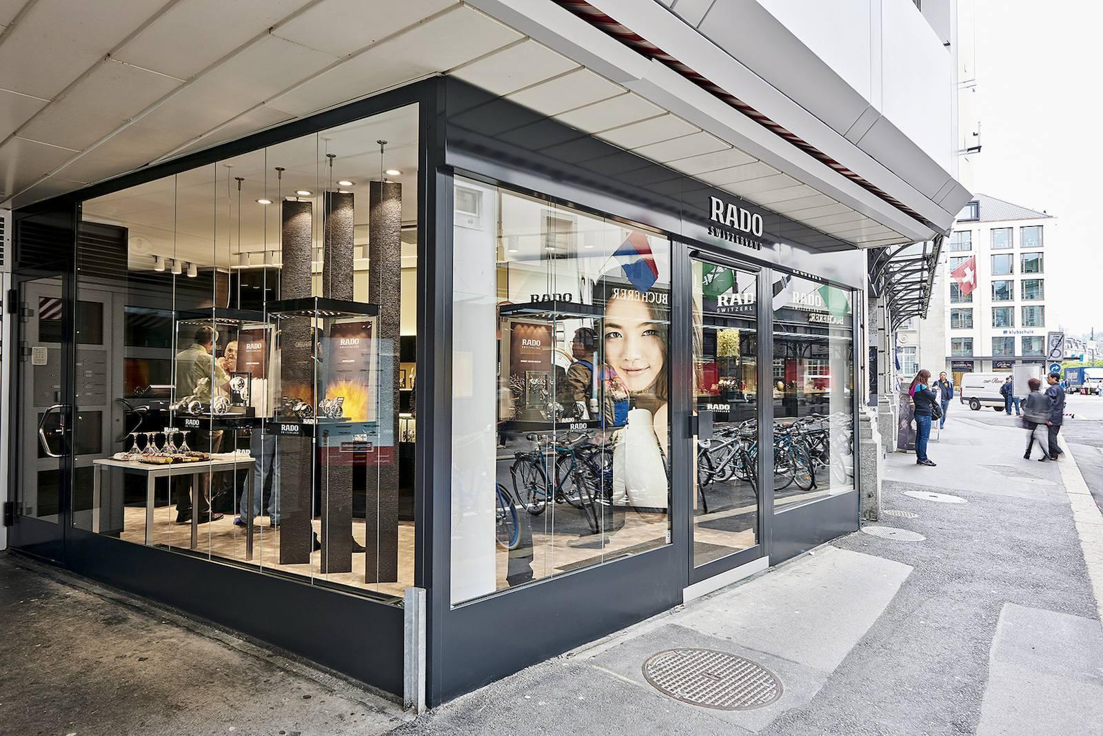Rado inaugura su primera Boutique monomarca en Suiza