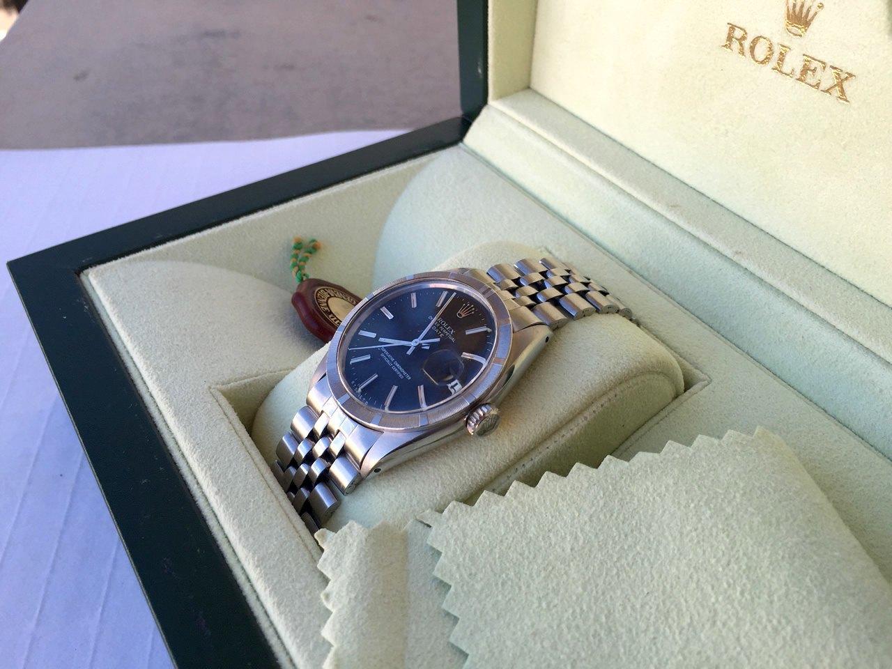 Rolex Oyster Perpetual Date 1501 año 1965