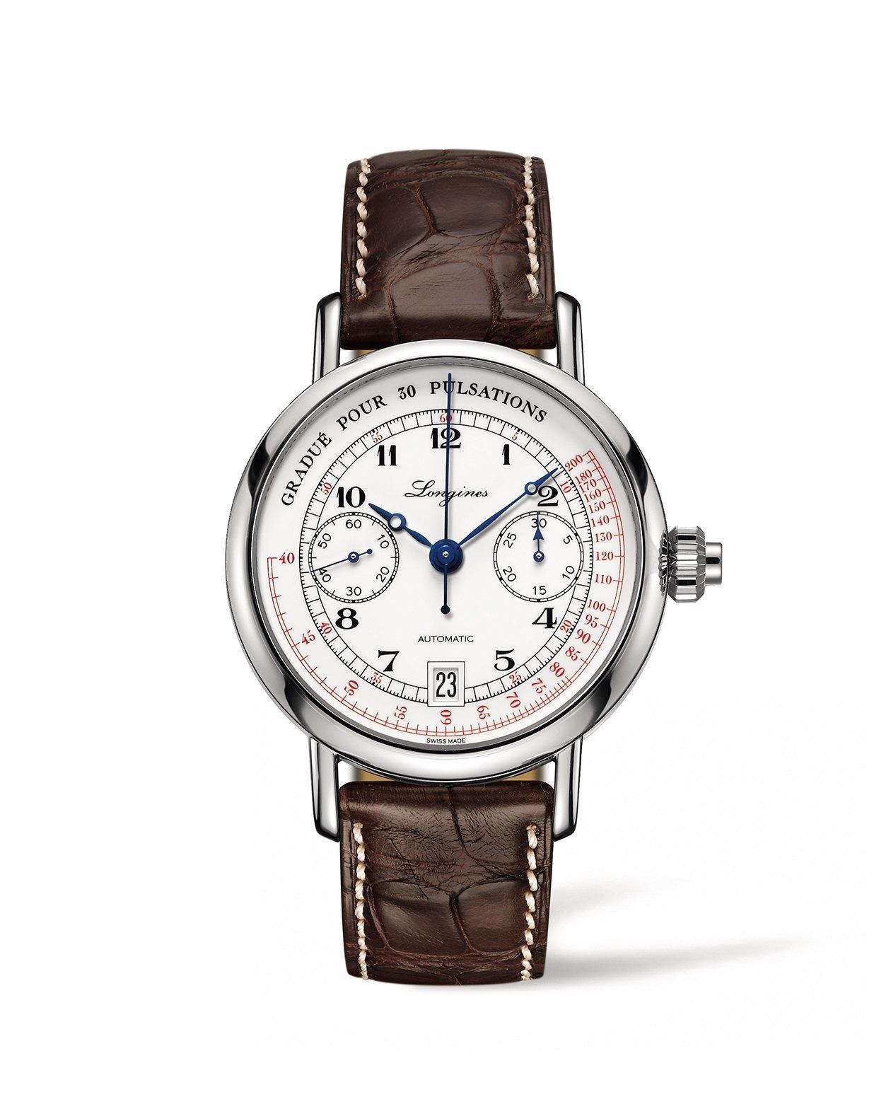The Longines Pulsometer Chronograph: alianza sutil entre elegancia y funcionalidad