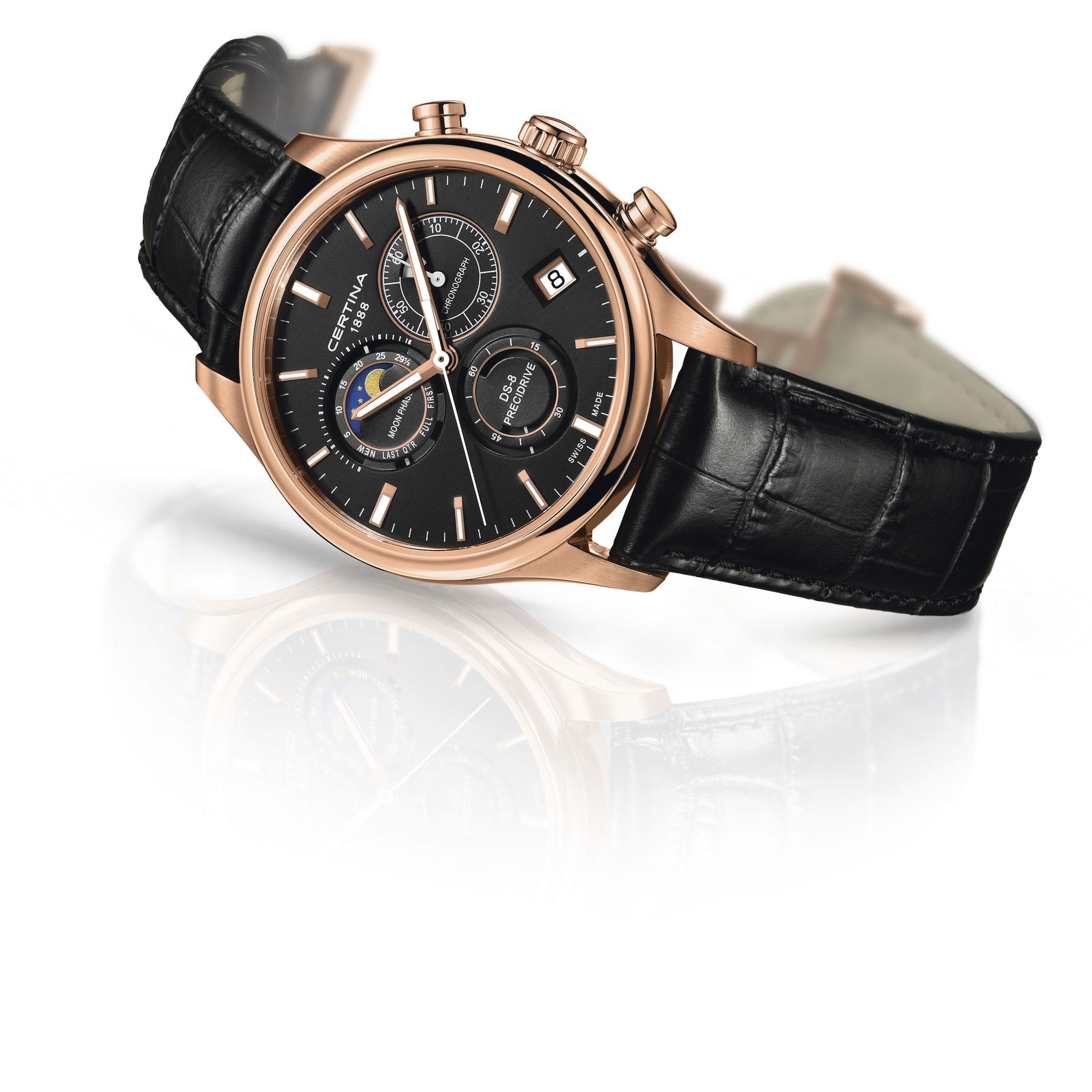 Certina DS-8 Chronograph Moon Phase – Pre Basel 2016