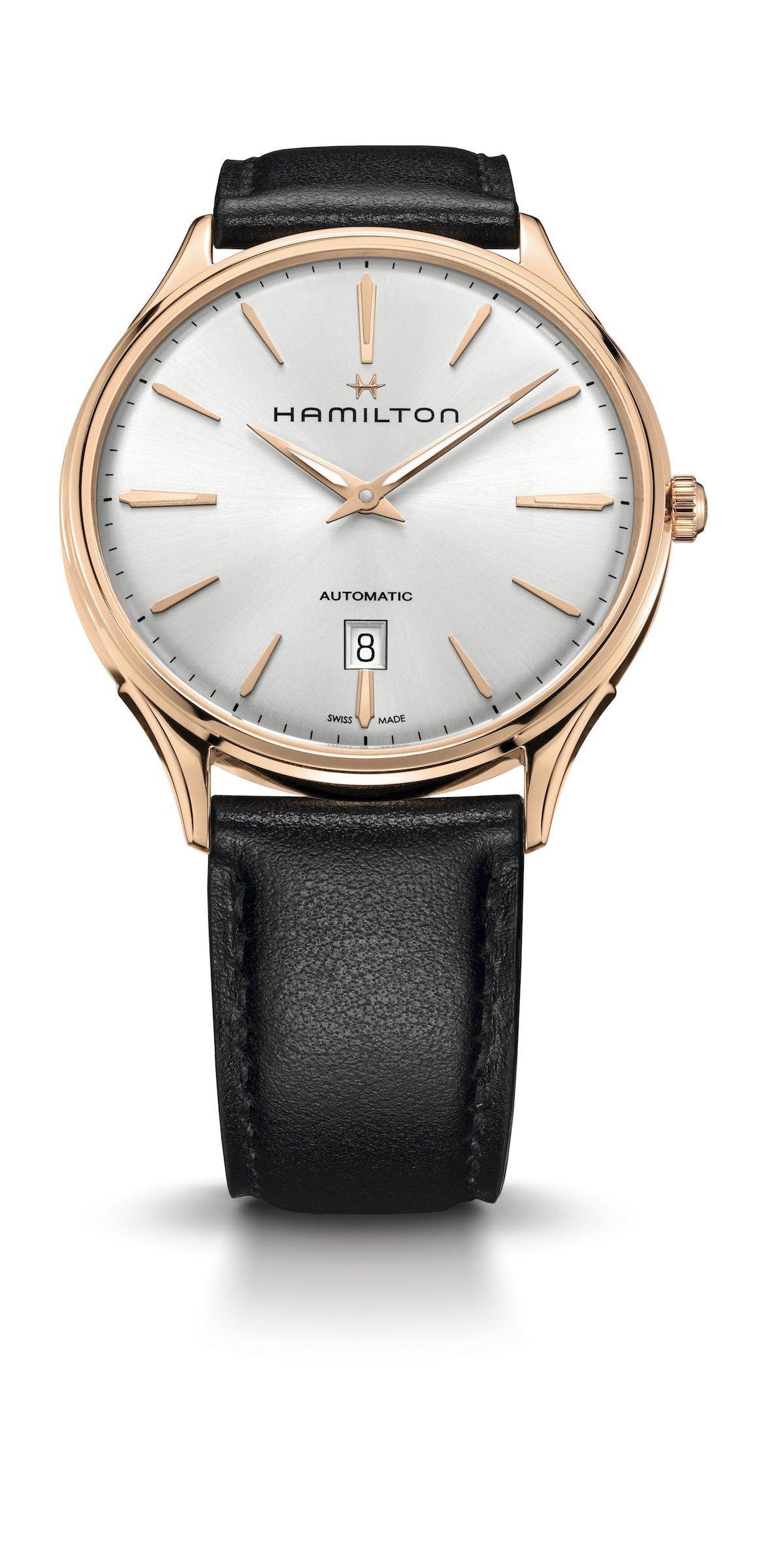 Hamilton apuesta por el oro con el nuevo Jazzmaster Thinline Gold