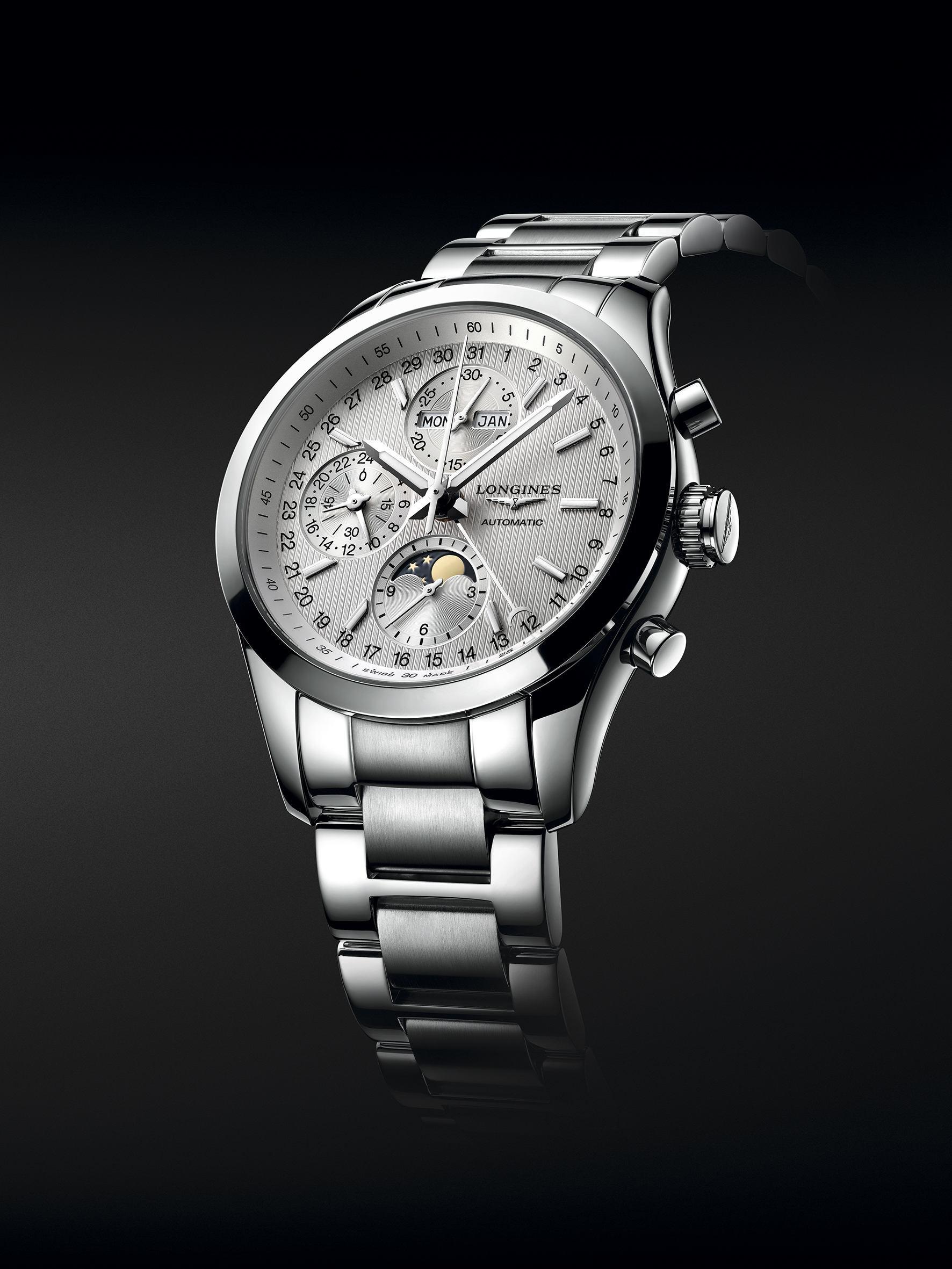 Longines presenta un nuevo modelo de su colección Conquest Classic, en versión Moonphase