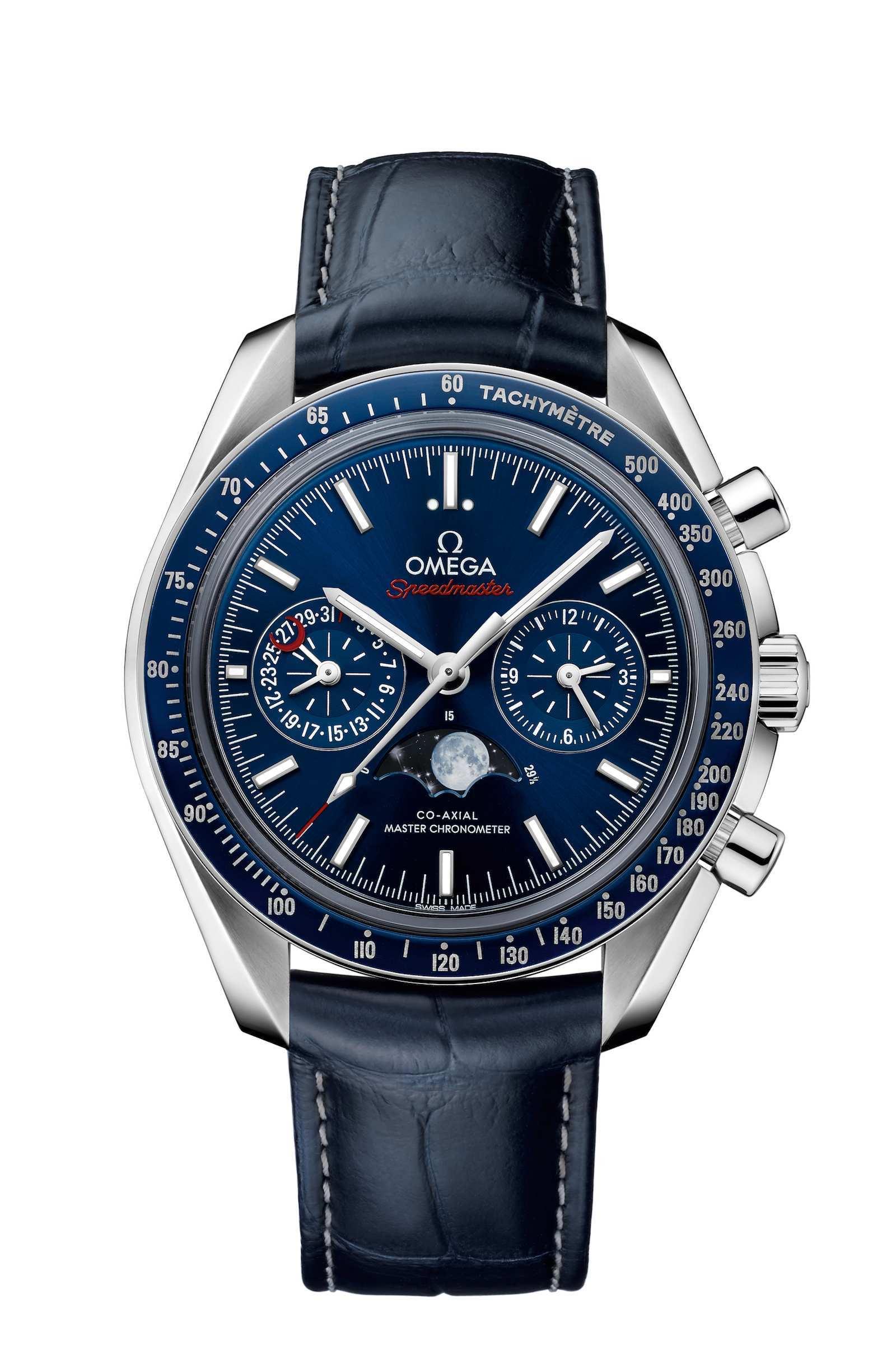 Omega – Pre Basel 2016 – Speedmaster Moonphase Chronograph Master Chronometer y Seamaster Planet Ocean 600m Master Chronometer