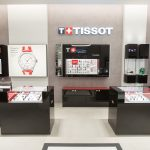 Tissot Boutique Times Square Interior display