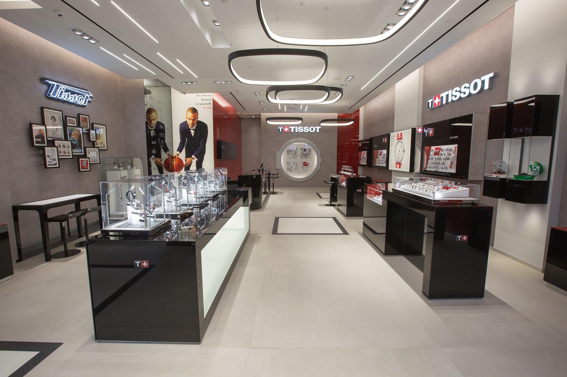 Tissot abre nueva boutique en Times Square, Nueva York