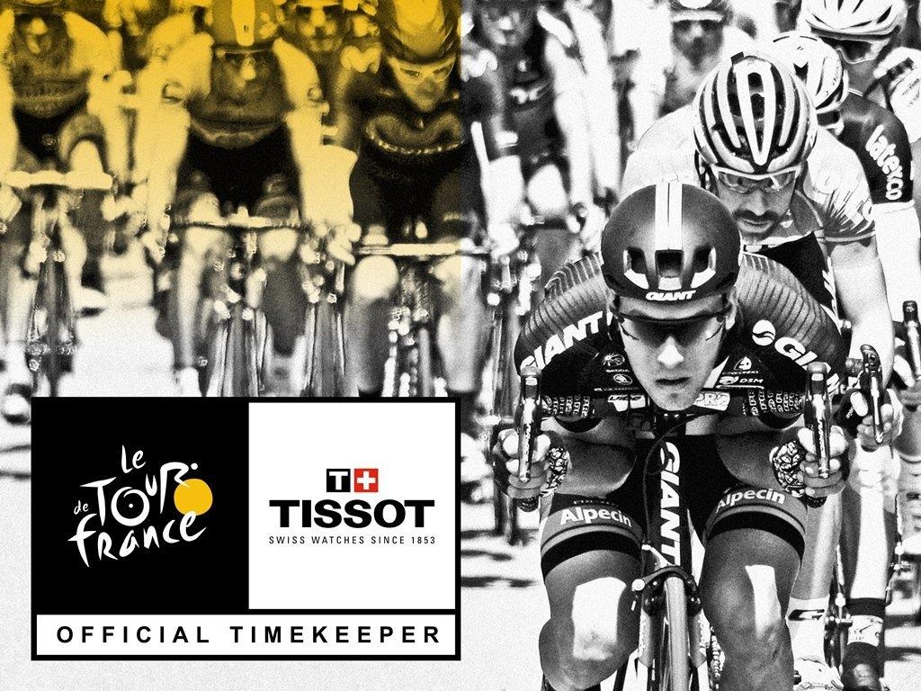Tissot, de nuevo cronometrador oficial del Tour de Francia