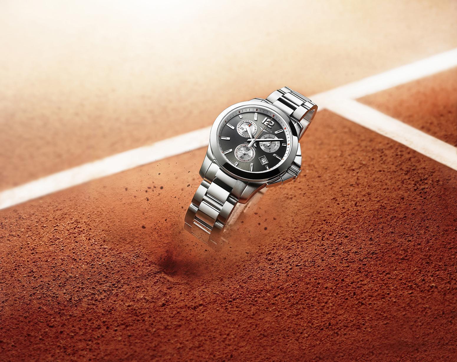 La elegancia deportiva, ahora encapsulada en el nuevo modelo femenino Conquest Roland Garros