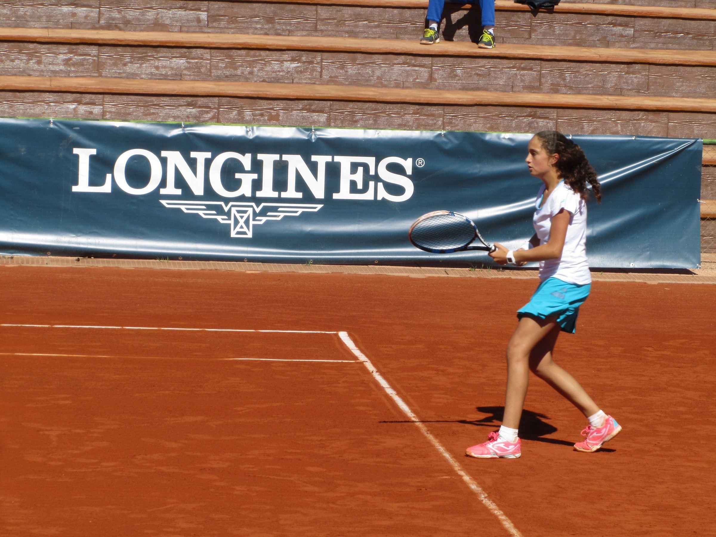 María Dolores López, ganadora del Longines Spain Junior Tour, representará a España en Roland Garros durante el 'Longines Future Tennis Aces'