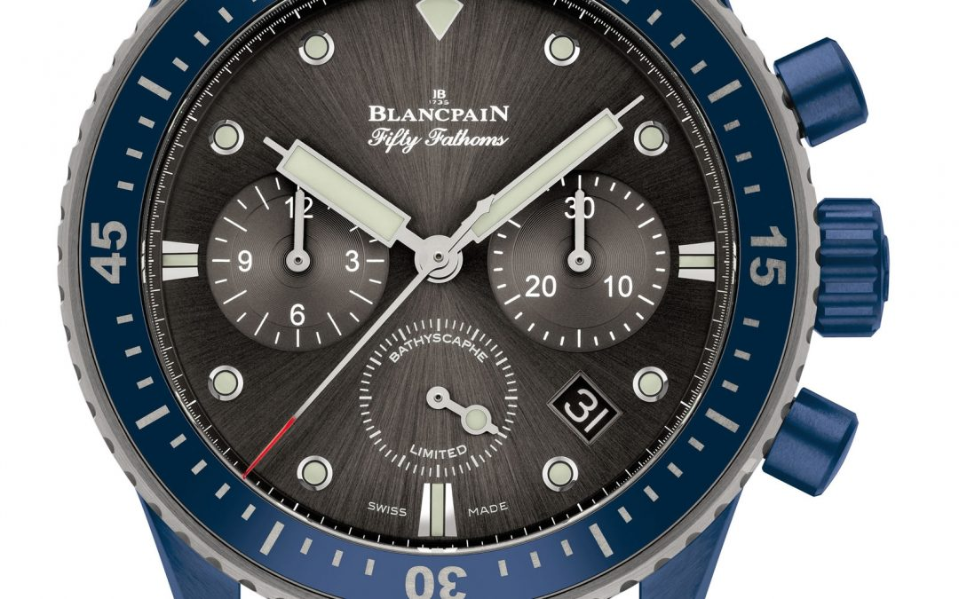 Blancpain presenta su nuevo Bathyscaphe Chronographe Flyback Blancpain Ocean Commitment II