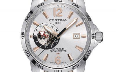 Certina DS Podium GMT Chronometer: porque el tiempo no sabe de fronteras