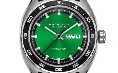 Hamilton Pan Europ Edición Verde: Un American Classic listo para embarcarse en una clásica aventura americana