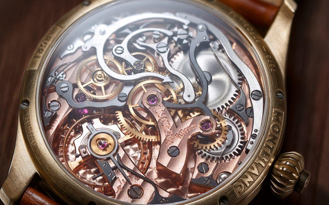 Relojería Vintage en su máxima expresión: Montblanc introduce el bronce en su Colección 1858
