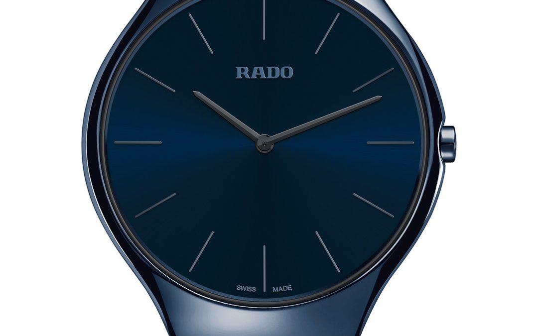 Rado presenta los nuevos True Thinline Colours