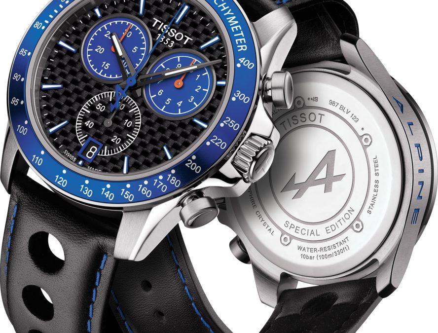 Es hora de aceptar el reto Tissot V8 Alpine Special Edition