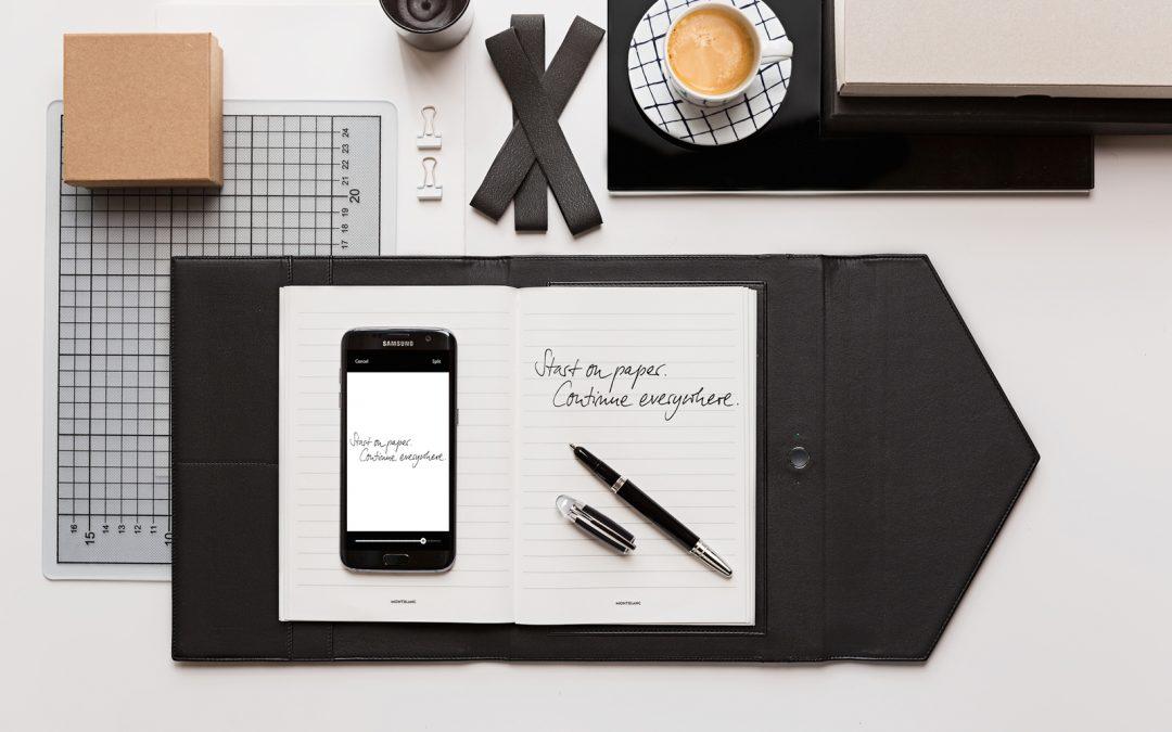 Conectando La Escritura Refinada Con El Mundo Digital. Montblanc Augmented Paper
