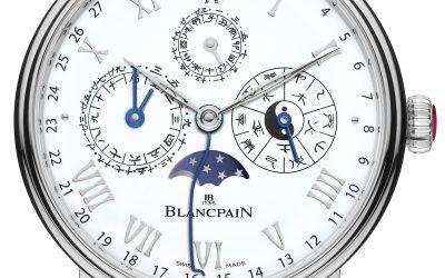 Blancpain presenta un nuevo Calendario Chino Tradicional en edición limitada para celebrar el año del perro en 2018, el Blancpain-Villeret Ref.: 0888F-3431-55B