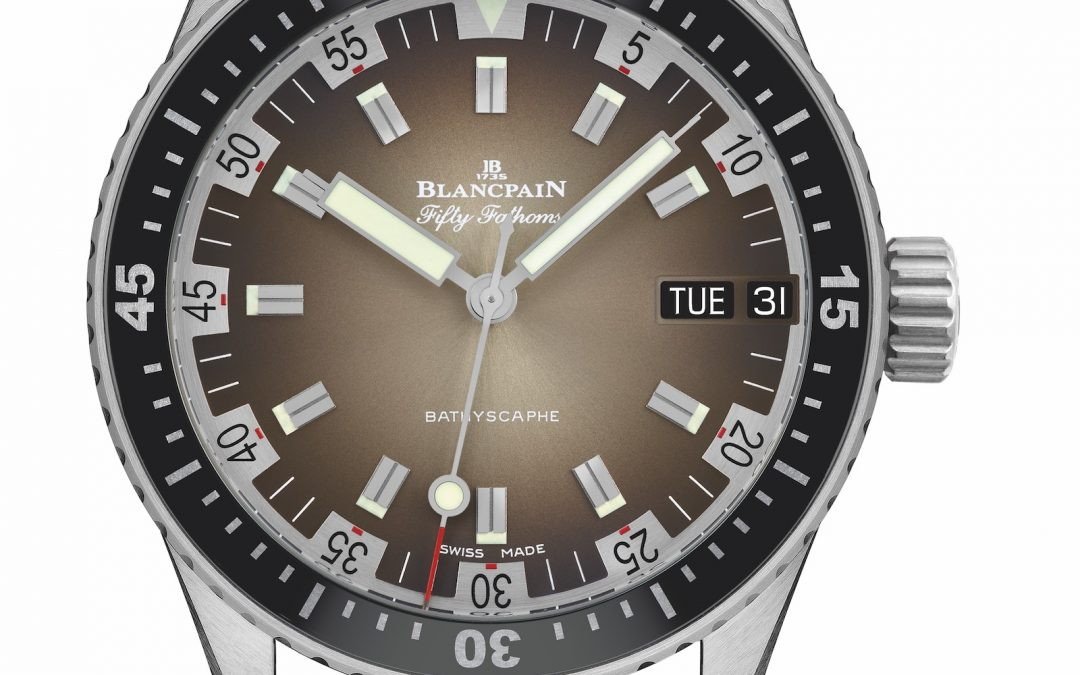 Novedades Baselworld 2018 – Blancpain Fifty Fathoms Bathyscaphe Day Date 70s