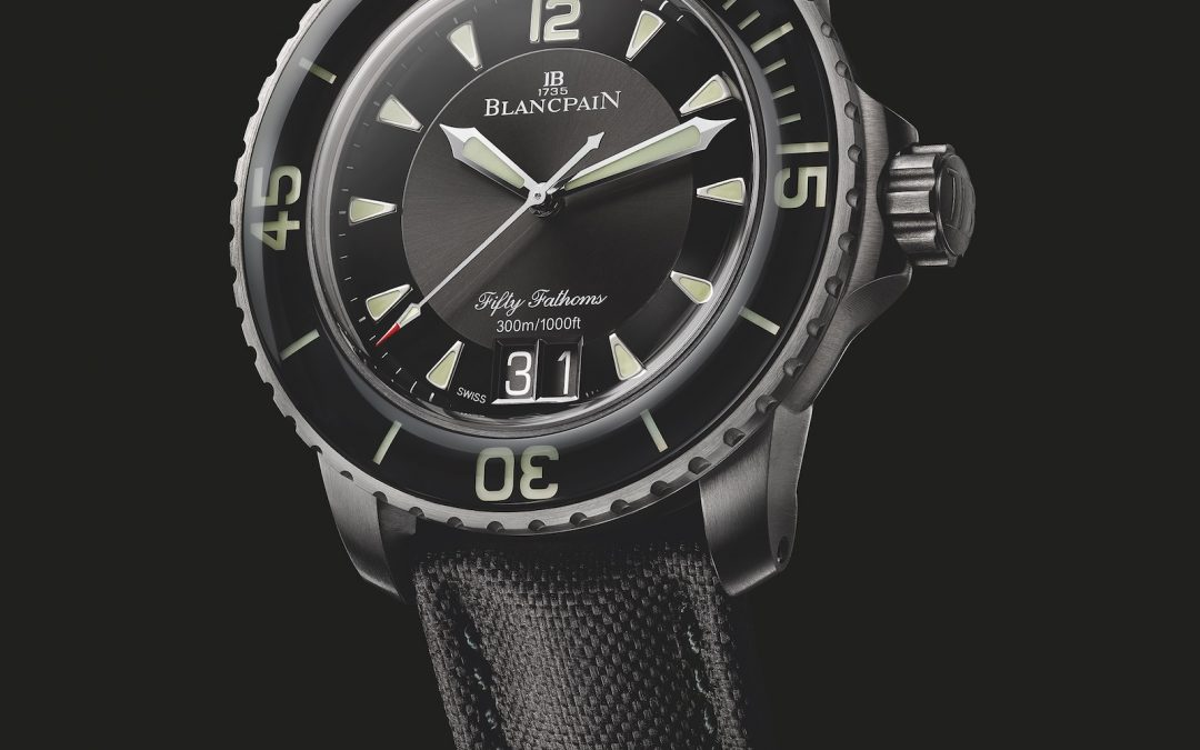 Novedades Baselworld 2018 – Blancpain Fifty Fathoms Grande Date