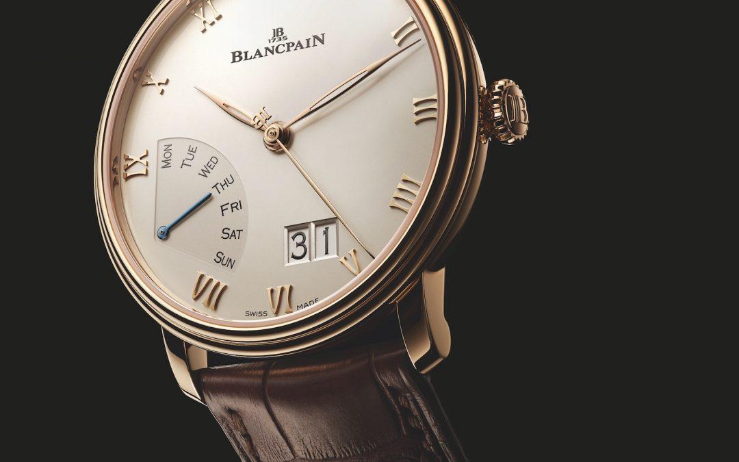 Novedades Baselworld 2018 – Blancpain Villeret Grande Date Jour Rétrograde