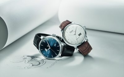 Novedades Baselworld 2018 – Glashütte Original Senator Excellence. Excelencia en azul, gris plateado y blanco