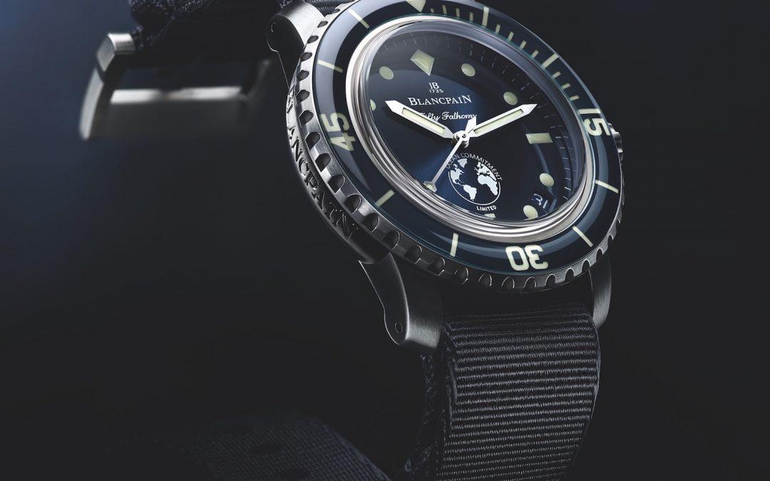 Blancpain presenta su tercer reloj de edición limitada, el Blancpain Ocean Commitment Fifty Fathoms 5008-11B40-52A