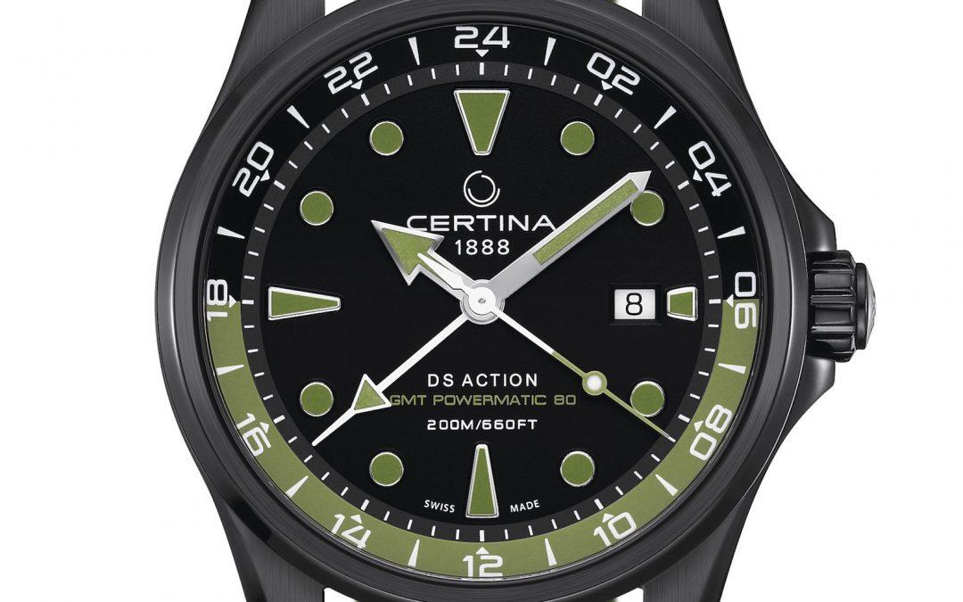 Certina DS Action GMT Automatic: viaje por el tiempo y el espacio