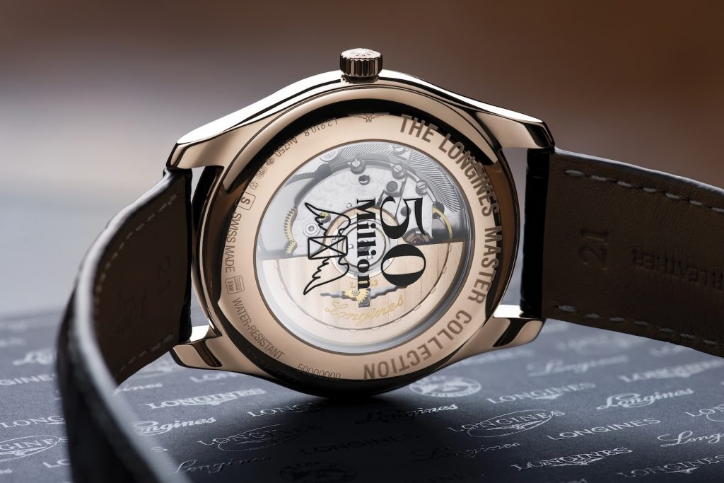 Longines 50 millones back