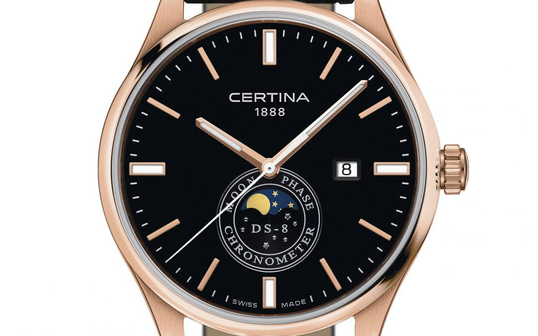 Certina DS-8 Moon Phase: una pareja celestial