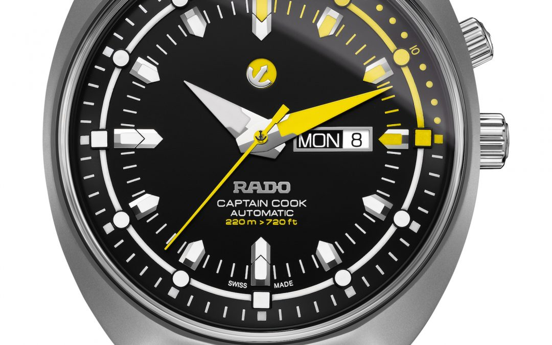 Rado Tradition Captain Cook MK III automático