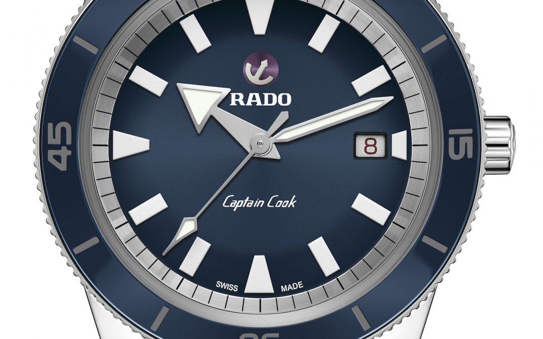 Colección de relojes Rado Captain Cook automáticos