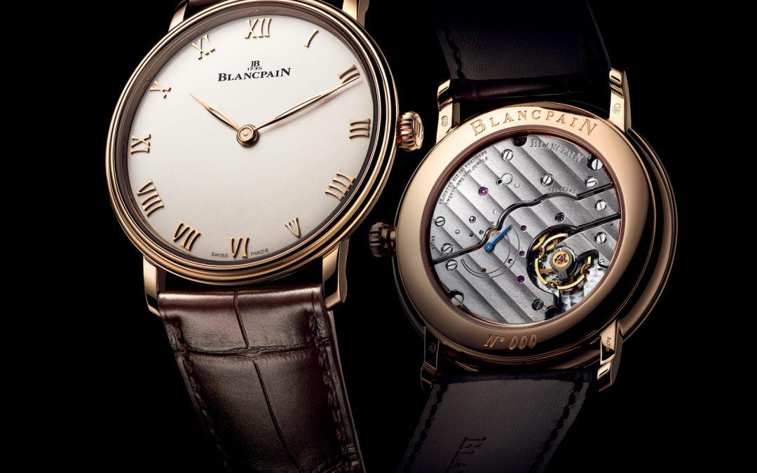 Blancpain Villeret Extra-plate : reinventando un clásico