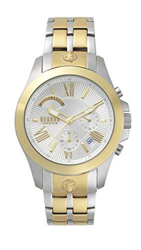 Versus Versace Reloj Analogico para Hombre de Cuarzo con Correa en Acero Inoxidable VSPBH1418