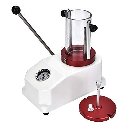 TMISHION Relojes la Herramienta Impermeable del probador, Relojes Máquina de Prueba de presión de Resistencia de la Caja Probador Resistente al Agua Herramienta para la Prueba de impermeabilidad