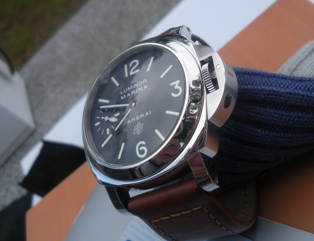 Luminor Panerai Pam 005 logo