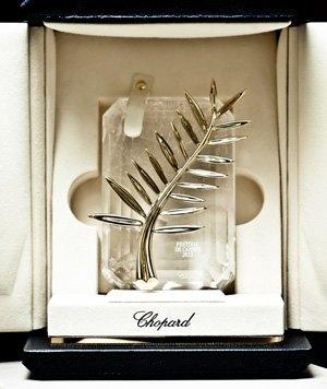 Chopard diseña la Palma de Oro del festival de Cannes